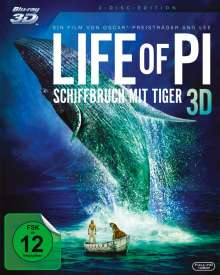 Life of Pi (3D & 2D Blu-ray), 2 Blu-ray Discs