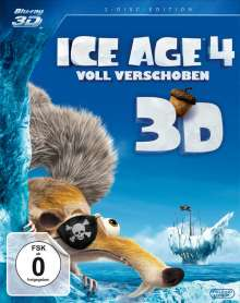 Ice Age 4 - Voll verschoben (3D & 2D Blu-ray), Blu-ray Disc