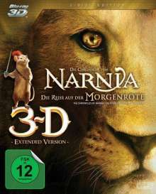 Die Chroniken von Narnia - Die Reise auf der Morgenröte (3D & 2D Blu-ray), 2 Blu-ray Discs