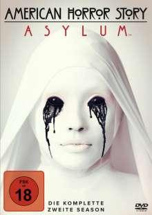 American Horror Story Season 2: Asylum, 4 DVDs