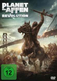 Planet der Affen: Revolution, DVD