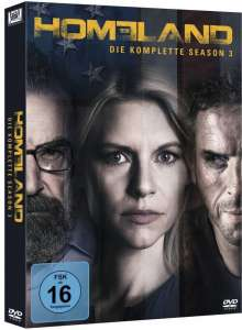 Homeland Staffel 3, 4 DVDs