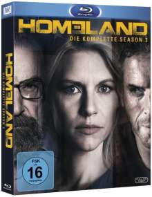 Homeland Staffel 3 (Blu-ray), 3 Blu-ray Discs
