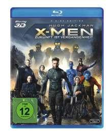X-Men - Zukunft ist Vergangenheit (3D & 2D Blu-ray), 2 Blu-ray Discs