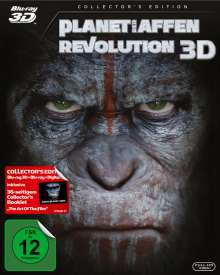 Planet der Affen: Revolution (3D & 2D Blu-ray), 2 Blu-ray Discs