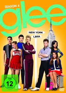 Glee Season 4, 6 DVDs