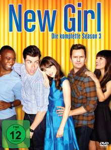 New Girl Staffel 3, 3 DVDs