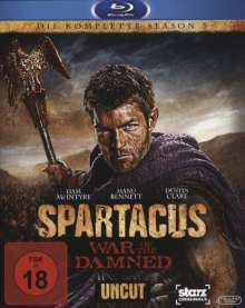 Spartacus Season 3: War of the Damned (Blu-ray), 4 Blu-ray Discs