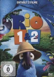 Rio 1 & 2, 2 DVDs