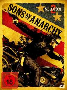 Sons Of Anarchy Season 2, 3 DVDs