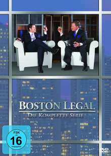Boston Legal Season 1-5 (Komplette Serie), 27 DVDs