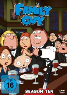 Family Guy Season 10, 3 DVDs