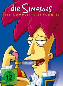 Die Simpsons Season 17, 4 DVDs