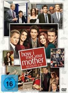 How I Met Your Mother Season 1-9, 27 DVDs
