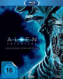 Alien Anthology (Jubiläums Collection) (Blu-ray), 4 Blu-ray Discs
