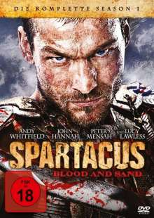 Spartacus Season 1: Blood And Sand, 5 DVDs