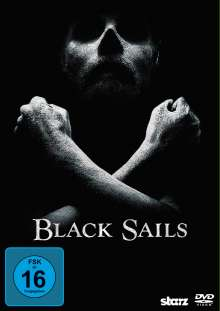 Black Sails Staffel 1, 3 DVDs