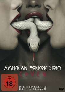 American Horror Story Season 3: Coven, 4 DVDs