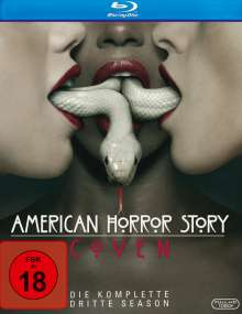 American Horror Story Season 3: Coven (Blu-ray), 3 Blu-ray Discs