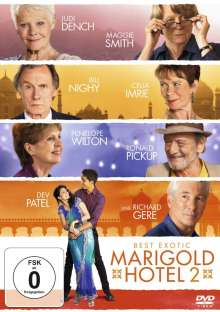 Best Exotic Marigold Hotel 2, DVD