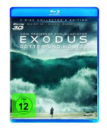 Exodus - Götter und Könige (3D & 2D Blu-ray), 3 Blu-ray Discs