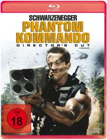 Phantom Kommando (Director's Cut) (Blu-ray), Blu-ray Disc
