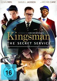 Kingsman - The Secret Service, DVD