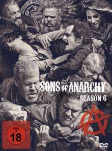 Sons of Anarchy Season 6, 4 DVDs