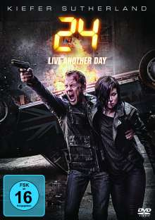 24 Season 9: Live Another Day, 4 DVDs