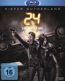 24 Season 9: Live Another Day (Blu-ray), 3 Blu-ray Discs