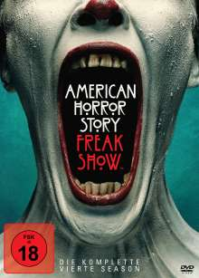 American Horror Story Season 4: Freak Show, 4 DVDs