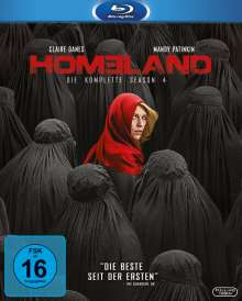 Homeland Staffel 4 (Blu-ray), 3 Blu-ray Discs