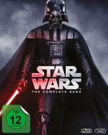 Star Wars: Complete Saga I-VI (Blu-ray), 9 Blu-ray Discs