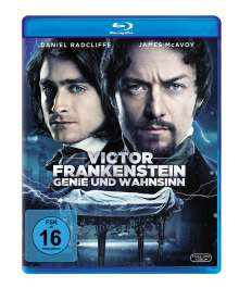 Victor Frankenstein (Blu-ray), Blu-ray Disc