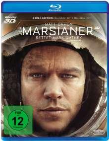 Der Marsianer - Rettet Mark Watney (3D & 2D Blu-ray), 2 Blu-ray Discs