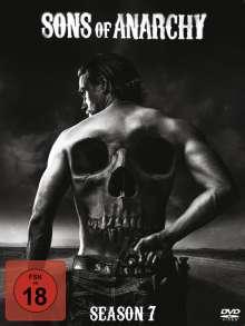 Sons of Anarchy Season 7 (finale Staffel), 5 DVDs