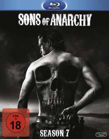 Sons of Anarchy Season 7 (finale Staffel) (Blu-ray), 4 Blu-ray Discs