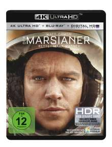 Der Marsianer - Rettet Mark Watney (Ultra HD Blu-ray & Blu-ray), 1 Ultra HD Blu-ray und 1 Blu-ray Disc