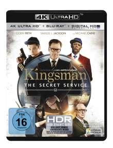 Kingsman - The Secret Service (Ultra HD Blu-ray & Blu-ray), 2 Ultra HD Blu-rays