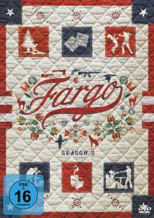 Fargo Staffel 2, 4 DVDs