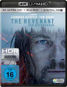 The Revenant - Der Rückkehrer (Ultra HD Blu-ray & Blu-ray), Ultra HD Blu-ray