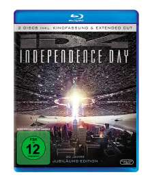 Independence Day (Extended Cut) (Blu-ray), 2 Blu-ray Discs
