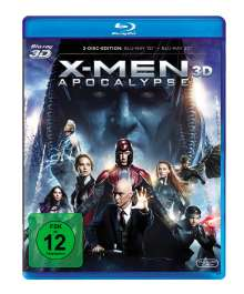 X-Men: Apocalypse (3D & 2D Blu-ray), 2 Blu-ray Discs