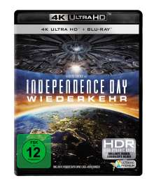 Independence Day 2 - Wiederkehr (Ultra HD Blu-ray & Blu-ray), Ultra HD Blu-ray