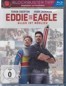 Eddie The Eagle (Blu-ray), Blu-ray Disc