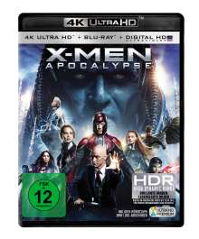 X-Men: Apocalypse (Ultra HD Blu-ray & Blu-ray), 1 Ultra HD Blu-ray und 1 Blu-ray Disc