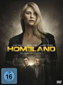 Homeland Staffel 5, 4 DVDs