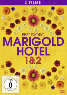 Best Exotic Marigold Hotel 1 & 2, 2 DVDs