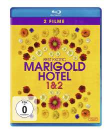 Best Exotic Marigold Hotel 1 & 2 (Blu-ray), 2 Blu-ray Discs