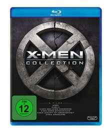 X-Men 1-6 Collection (Blu-ray), 6 Blu-ray Discs